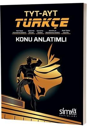 Simya Yayınları 12. Sınıf Türkçe AYT - TYT Konu Anlatım Kitabı