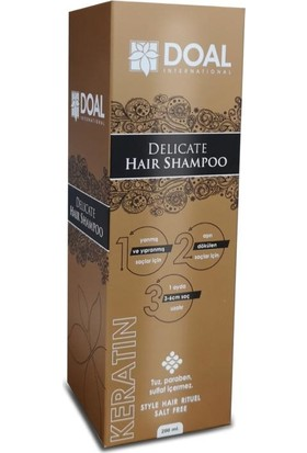 Doal Keratin Saç Şampuanı