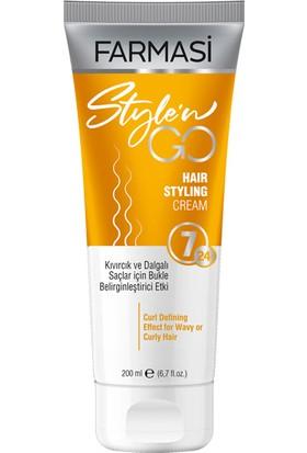 Farmasi Style 'n Go Kıvırcık Saçlar Saçbakım Kremi 200 ML-1108192