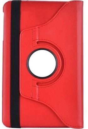 "Esepetim Samsung Galaxy Tab4 T530 10.1"" Dönerli Tablet Kılıfı Seti - Kırmızı"