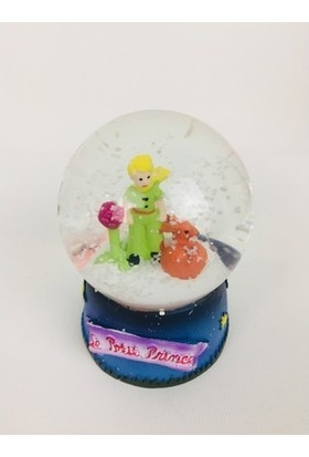 A3 Little Prince Çerçeve ve Little Prince Işıklı Kar Küresi Seti