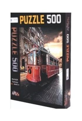Adam Games Nostaljik Tramvay 500 Parça Puzzle