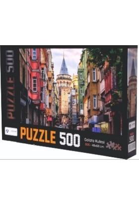 Adam Games Galata Kulesi 500 Parça Puzzle