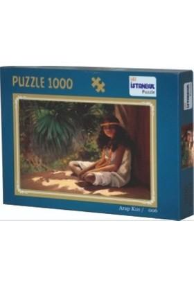 İstanbul Puzzle Arap Kızı Temalı 1000 Parça Puzzle