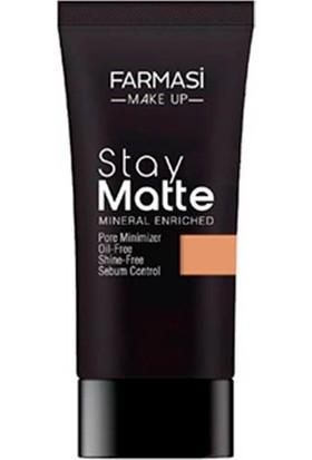 Farmasi Make Up Stay Matte Fondöten 30 ml Sun TAN-05-1302496