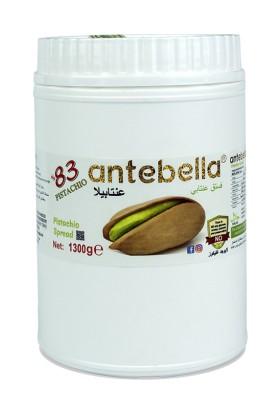 Antebella Pistachio Kahvaltılık Sürülebilir Antep Fıstık Ezmesi 1300 gr