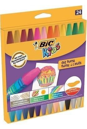 Bic Kids 24 Renk Pastel Boya