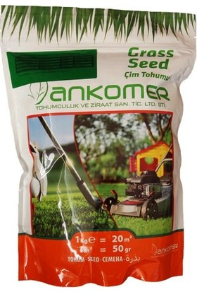 Ankomer Basmaya Dayanıklı 4'lü Karışım Çim Tohumu 1 kg
