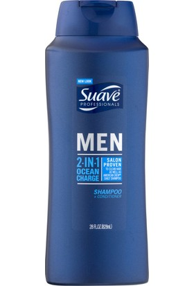 Suave Men 2in1 Ocean Charge Şampuan 828 ml