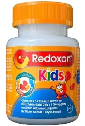 Redoxon Kids Çiğnenebilir 60 Tablet