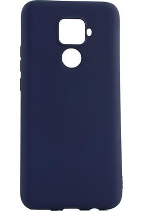 Tekno Grup Huawei Mate 30 Lite Kılıf Mat Premium Silikon Kılıf - Lacivert