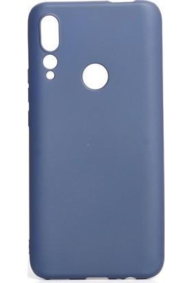 Tekno Grup Huawei P Smart Z Kılıf Mat Premium Silikon Kılıf - Lacivert
