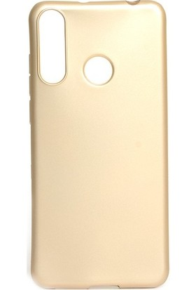 Tekno Grup Casper Via F3 Kılıf Mat Premium Silikon Kılıf - Gold