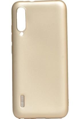 Tekno Grup Xiaomi Mi A3 Kılıf Mat Premium Silikon Kılıf - Gold