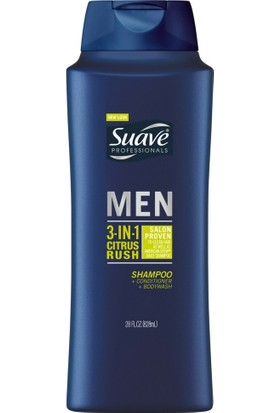 Suave Men Citrus Rush Şampuan 828 ml