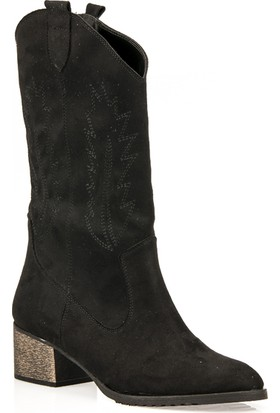 Uniquer Kadın Çizme 93481U 207 2 Siyah