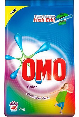 Omo Color Renkliler Için Toz Çamaşır Deterjanı 7 kg