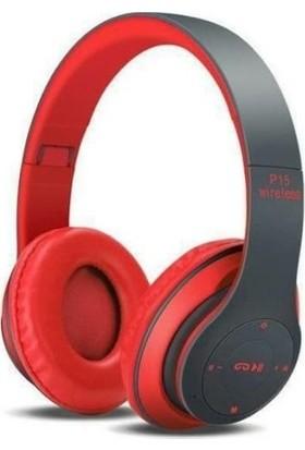 PSL P15 Bluetooth Kulaklık Siyah-Kırmızı