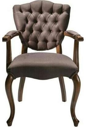 Bengi Sandalye Kelebek lükens Ahşap kollu