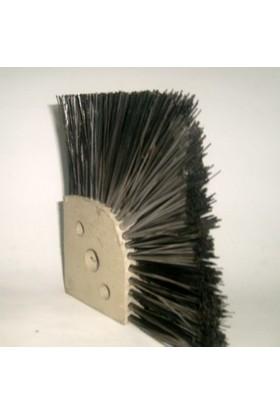 Sun Pigments 10 cm x 10 cm 10 cm Kılboylu Bordür Takoz Fırçası Polyamid Bağlantılı Çelik Kıllı 6'lı