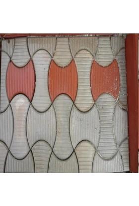 Sun Pigments Dekoratif Plastik Parke Taşı Kalıbı Tekli Ithal Kelebek Yatay Yarım 6 cm 10'lu