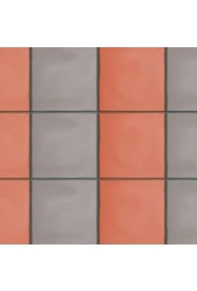 Sun Pigments Dekoratif Plastik Yer Karo Taşı Kalıbı Tretuar Büyük Düz Karo 5 cm 5'li