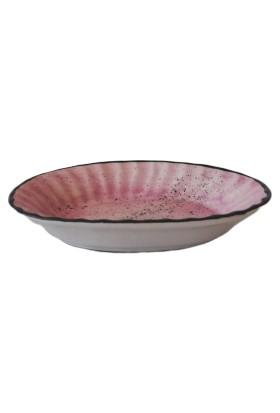 Evanilife Kayık Tabak Oval 17 cm Pembe