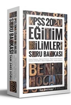 Benim Hocam Yayınları 2020 KPSS Eğitim Bilimleri Tek Kitap Soru Bankası
