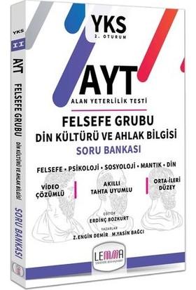 Lemma Yayınları 2020 Ayt Felsefe Grubu Din Kültürü Ve Ahlak Bilgisi Soru Bankası