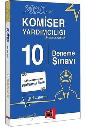 Yargı Yayınları 2020 Komiser Yardımcılığı Sınavına Hazırlık 10 Deneme Sınavı 6. Baskı