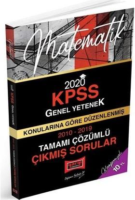 Yargı Yayınevi 2020 KPSS Matematik Konularına Göre Düzenlenmiş Tamamı Çözümlü Çıkmış Sorular