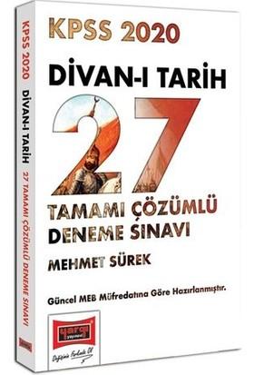 Yargı Yayınları 2020 KPSS Divan-I Tarih Tamamı Çözümlü 27 Deneme Sınavı