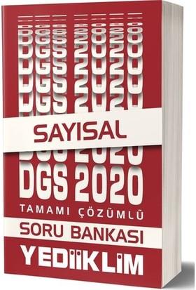 Yediiklim Yayınları 2020 DGS Sayısal Tamamı Çözümlü Soru Bankası