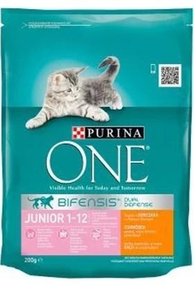 Purina One Tavuklu Yavru Kedi Maması 200 Gr
