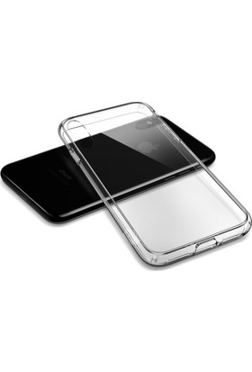 Eretna Apple iPhone X/XS Silikon Kılıf - Şeffaf