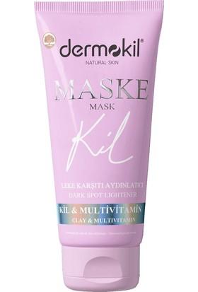 Dermokil Leke Karşıtı Aydınlatıcı Maske (Multi Vitamin&Kil) 75 Ml