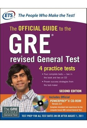 The Official Guide to the GRE Revised General Test with CD 2nd ed. - Educational Testing Service