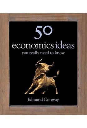 50 Economy Ideas - Edmund Conway