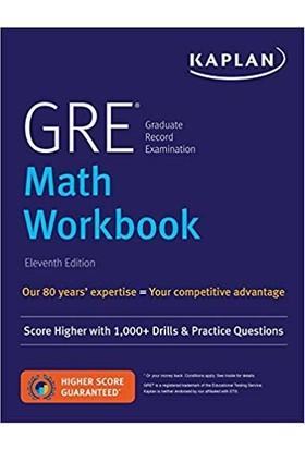 Kaplan GRE Math Workbook (11Th Ed.) - Robert D. Kaplan