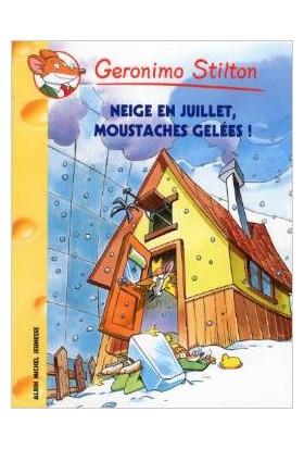 Neige en juillet, moustaches gelées!(Tome 51) - Geronimo Stilton