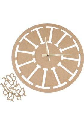 Okutan Hobi S10 Dekoratif Mekanizmalı Saat