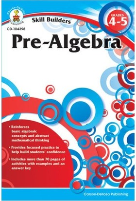 Pre-Algebra Grades 4-5