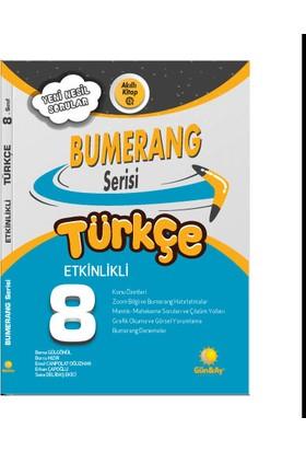 Günay Yayınları 8.Sınıf Bumerang Etkinlikli Kitap Türkçe