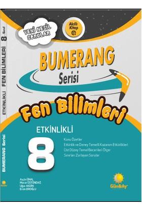 Günay Yayınları 8.Sınıf Bumerang Etkinlikli Kitap Fen Bilimleri