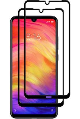 Case 4U Xiaomi Redmi Note 8 Fiber Nano Cam Ekran Koruyucu Film Siyah