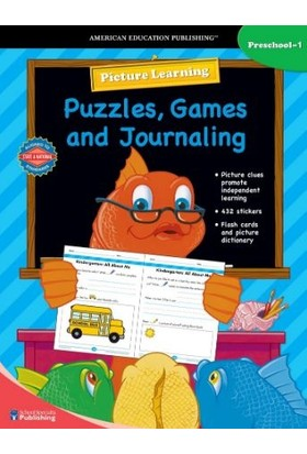 Puzzle Games Journal P-1 - School Specialty