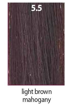 Maraes Organik Saç Boyası 5.5 / Açık Kestane Maun Kahve