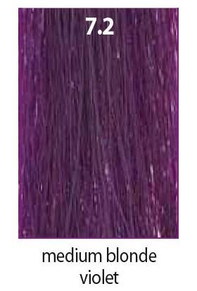 Maraes Organik Saç Boyası 7.2 / Kumral Viyole