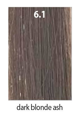 Maraes Organik Saç Boyası 6.1 / Küllü Koyu Kumral