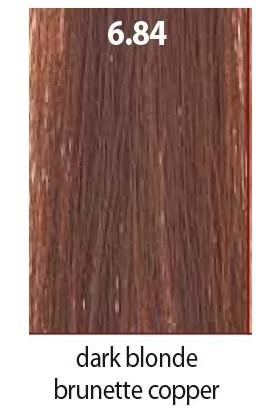 Maraes Organik Saç Boyası 6.84 / Koyu Kumral Çikolata Bakır